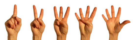 image of finger counting